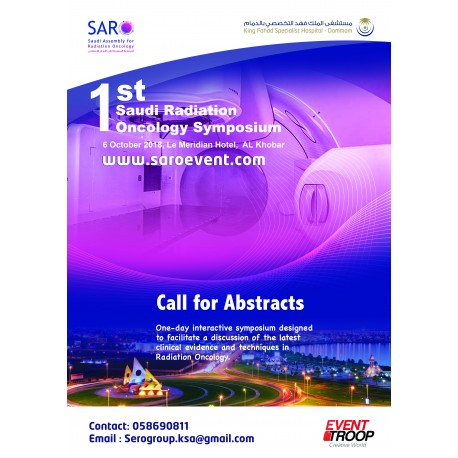 the 1st Annual Saudi Radiation Oncology Symposium