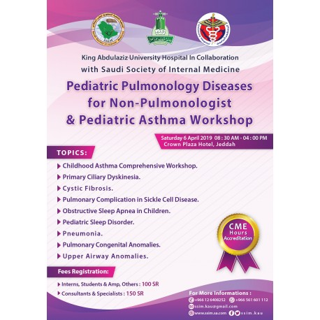 Pediatric Pulmonology Diseases For Non-Pulmonologist & Pediatric Asthma Workshop