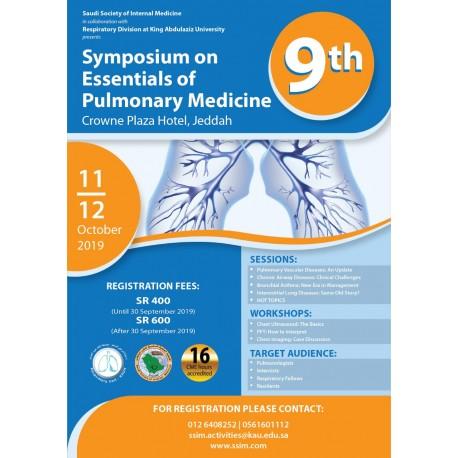 9th Symposium On Essentials of Pulmonary Medicine