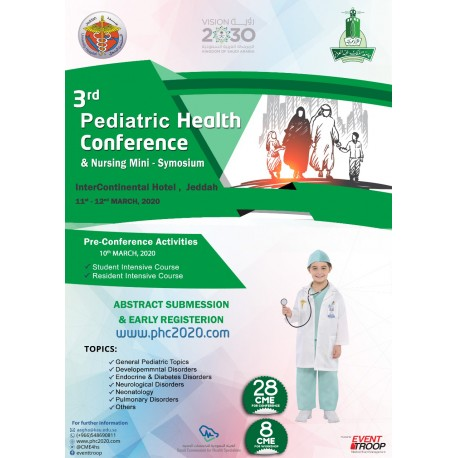 Pediatric Health Conference 2020 Package