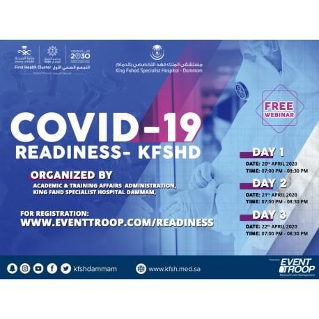 COVID-19 Readiness- KFSHD