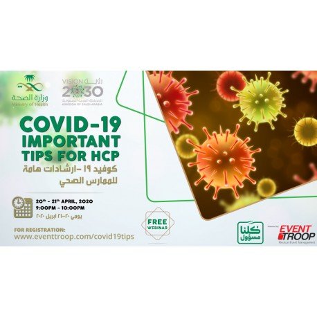 COVID-19 Important TIPS For HCP
