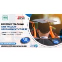 Effective Teaching and Faculty Development Course