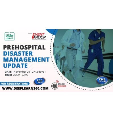 Prehospital Disaster management update