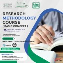 Research Methodology Course (Basic Concept)